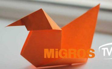 Origami Ördek Yapımı