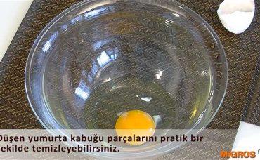 Yumurta Kırıklarını Temizlemenin Kolay Yolu