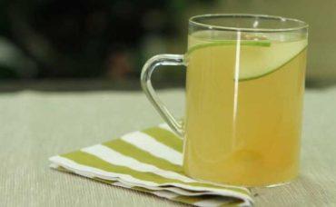 Portakal Kabuklu Yeşil Elmalı Ihlamur Tarifi