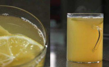 Limon, Bal ve Zencefilli Yeşil Çay Tarifi