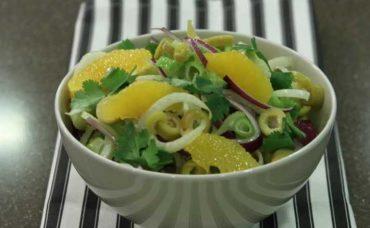 Portakallı Rezene Salatası Tarifi