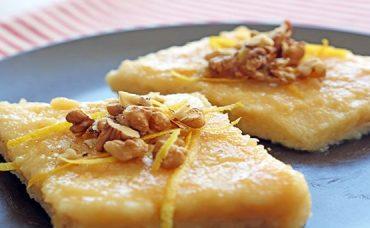 Sütlü Limonlu İrmik Tatlısı Tarifi