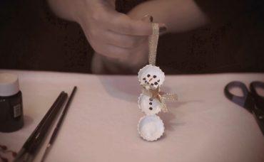 Gazoz Kapağından Kardan Adam Yapmak