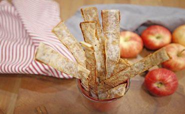 Tarçınlı Çıtır Elma Çubukları Tarifi