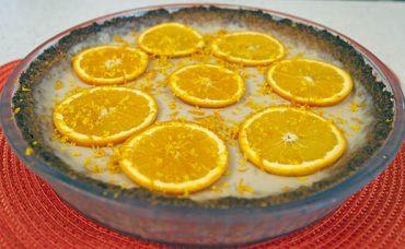 Portakal ve Yoğurtlu Tart Tarifi