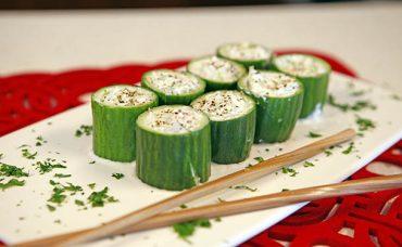 Salatalık Sushi Tarifi