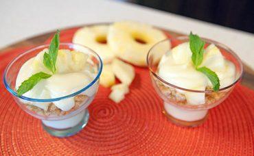 Ananaslı Beyaz Çikolatalı Mus Tarifi