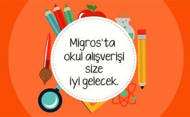 Migros'ta Okul Alışverişi Size İyi Gelecek!