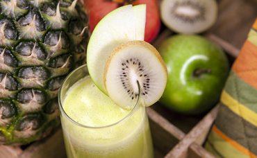 Yeşil Tropikal Kokteyl Tarifi
