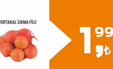 İyi Tarım Bu Fiyata Sadece Migros'ta: Portakal Sıkma File