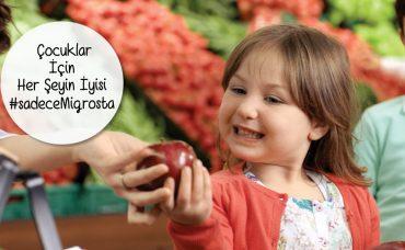 Çocuklarımız İçin Her Şeyin İyisi #sadeceMigrosta!