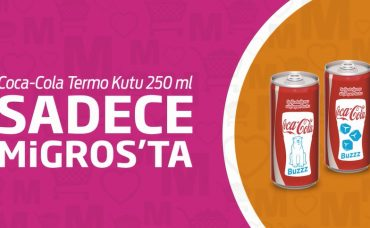 Coca-Cola Termo Kutu Sadece Migros'ta
