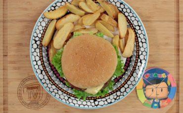 Pepee Hamburger Köftesi ile Hamburger Tarifi