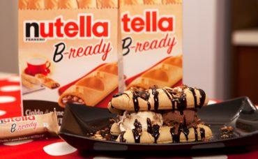 Nutella B-ready ile Dondurmalı Sandviç Tarifi