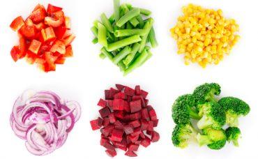 Sebzeler Küp Küp Nasıl Doğranır?