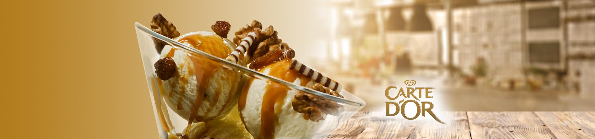 Karamelize Edilmiş Elma ile Vanilyalı Carte d'Or