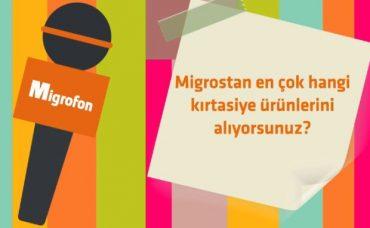 Migros'tan En Çok Hangi Kırtasiye Ürünlerini Alıyorsunuz?