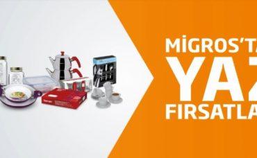Migros'tan Yaz Fırsatları: Züccaciye Ürünleri