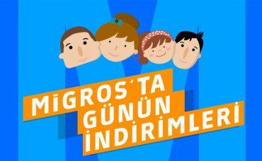 Migros'ta Günün İndirimleri 14 Ekim