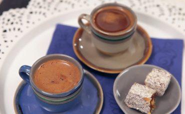 Bitter Çikolatalı Türk Kahvesi