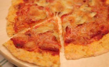 Fırında Karnabahar Tabanlı Pizza Tarifi
