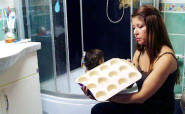 Bebekler İçin Banyo Boyası Yapımı