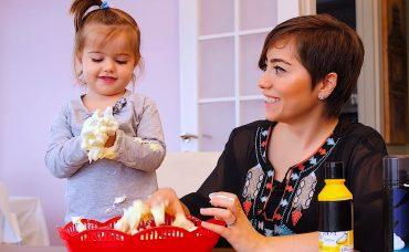 Bebekle Etkinlik; Köpük Mıncıklama
