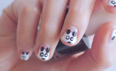 Pandalı Nail Art Tasarımı
