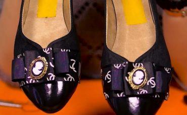 El Yapımı Ayakkabı Süsleme