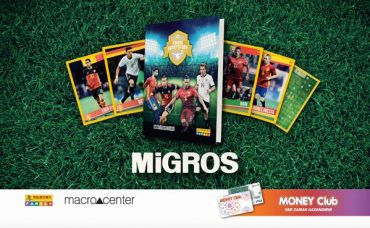 Futbol Heyecanı, Panini Superstars Kartlarıyla Migros'ta!