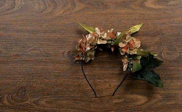 Çiçeklerden Gelin Tacı Nasıl Yapılır?