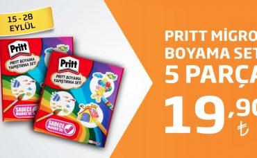 Pritt Migros Boyama Seti Sadece 19,90 TL!