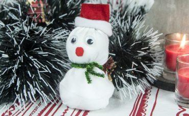 Çoraptan Kardan Adam Nasıl Yapılır?