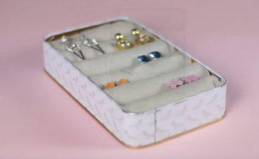 Lekeli Mutfak Havlularından Mücevher Kutusu Yapımı