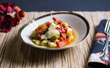 Fırında Biber Salatası Tarifi