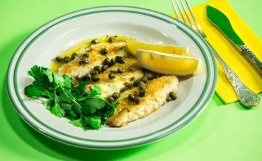 Limonlu Çupra Balığı