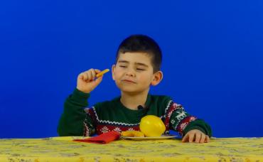 Minik Damaklar: Kış Meyveleri