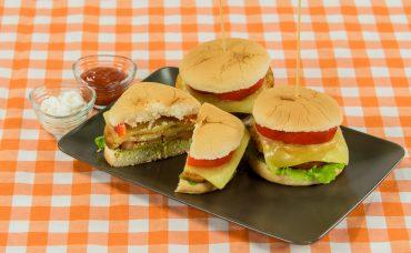 Vejetaryan Burger