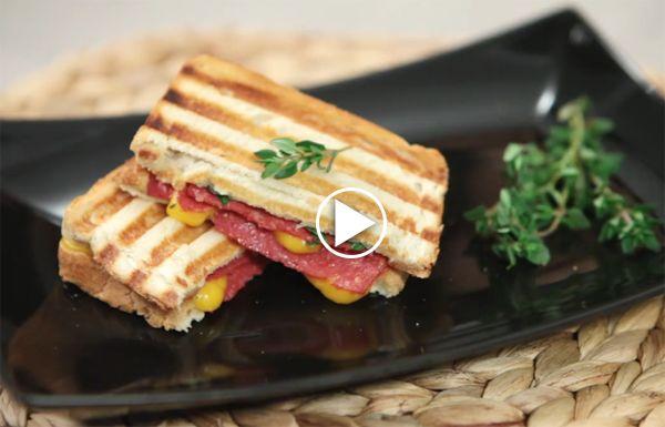 taze-kekikli-tost