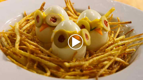 şekilli yumurtalar