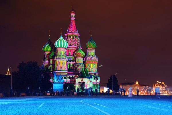 Aziz Vasil Katedrali, Rusya