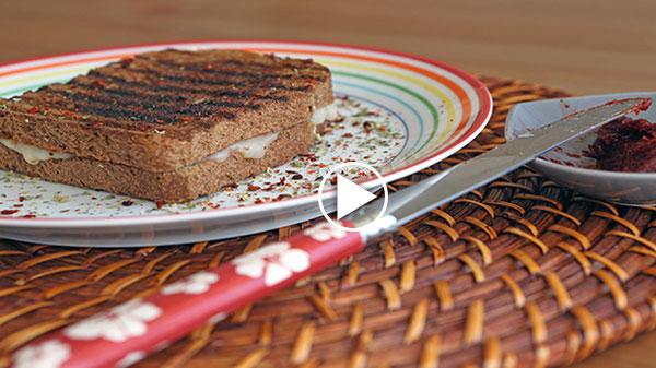 baharatlı tost