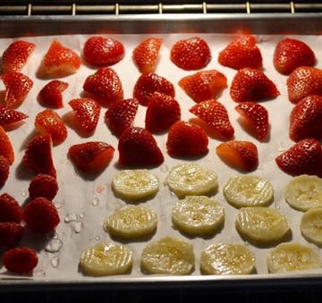 evde kurutulmuş meyve yapımı