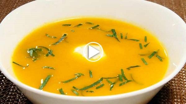portakallı çorba