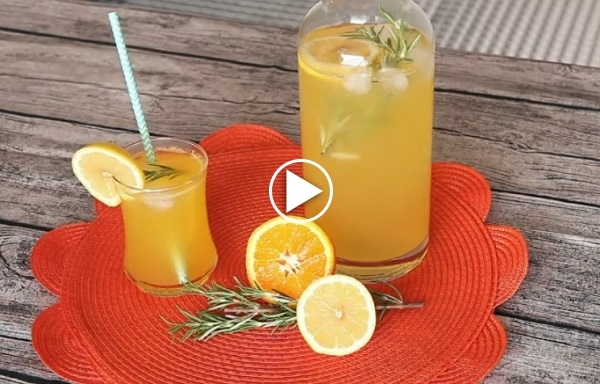 Biberiyeli Portakallı Kokteyl