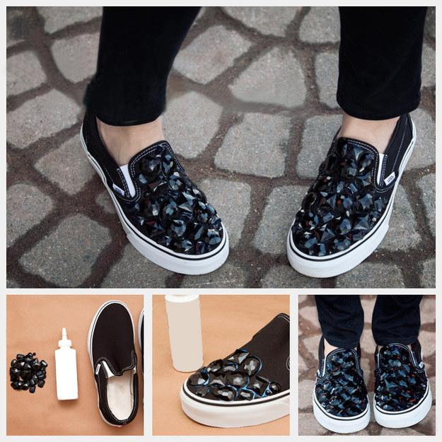 siyah_taşlı_ayakkabı