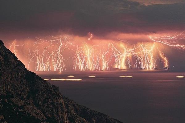 yanan gökkuşağı