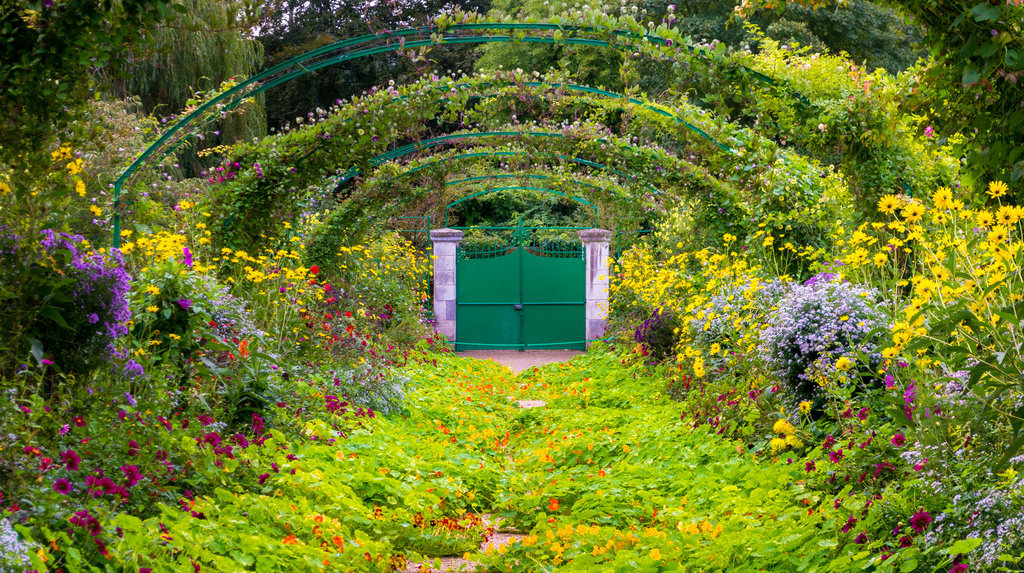 Monet-Garden-Fransa