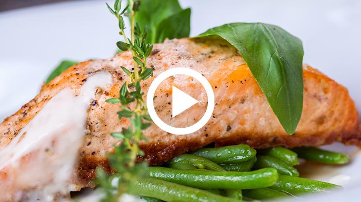 Kremalı Somon Balığı