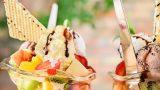Birinciliği Ona Verdiler: Dondurmalı Meyve Salatası